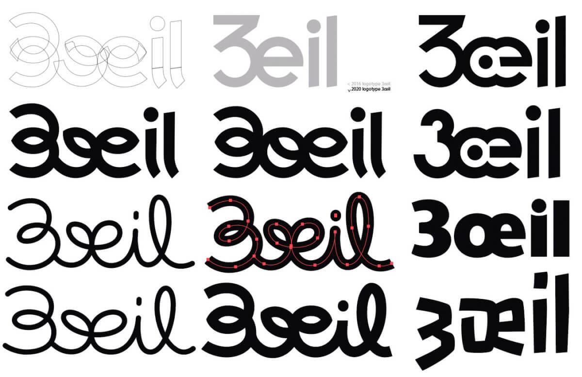 recherche logotype 3oeil