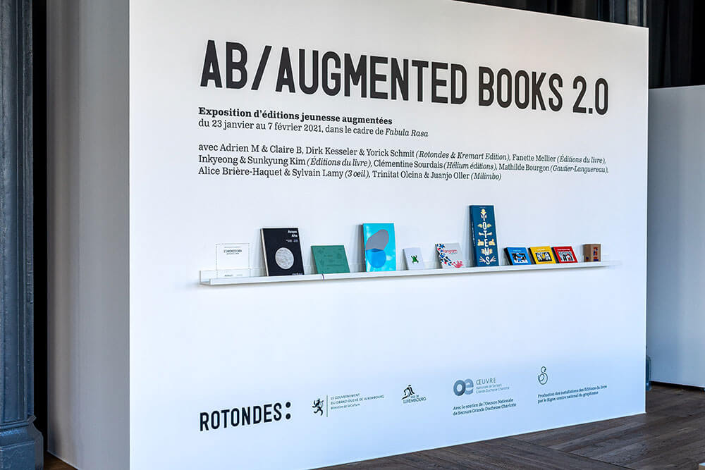 Exposition augmented books 2.0 - Tangram - 3oeil