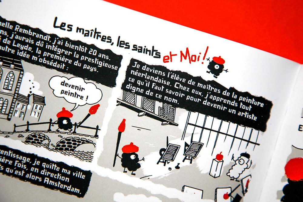 Raphaële et Olivier illustrent la revue DADA 252