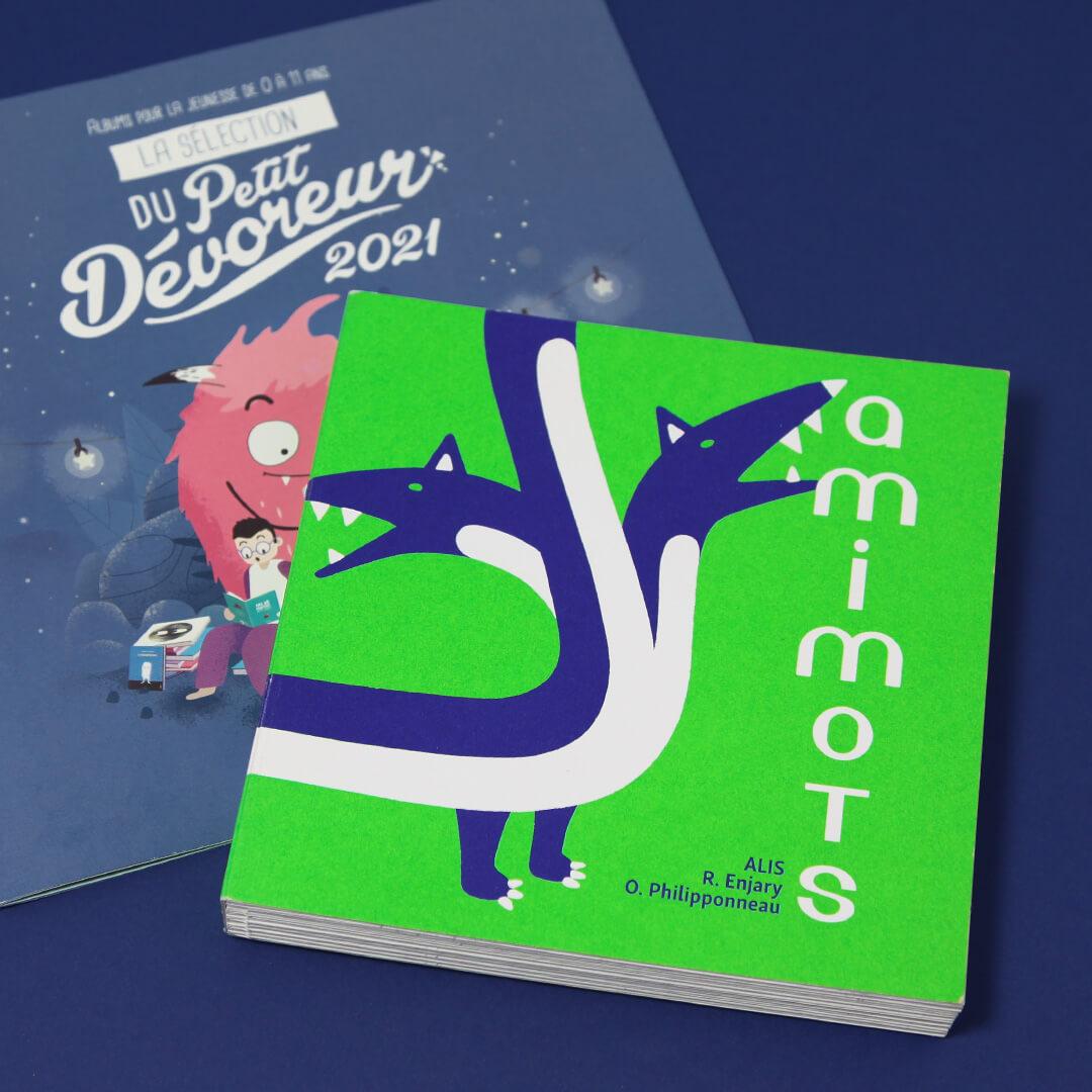 livre amimots dans la sélection du Petit Dévoreur