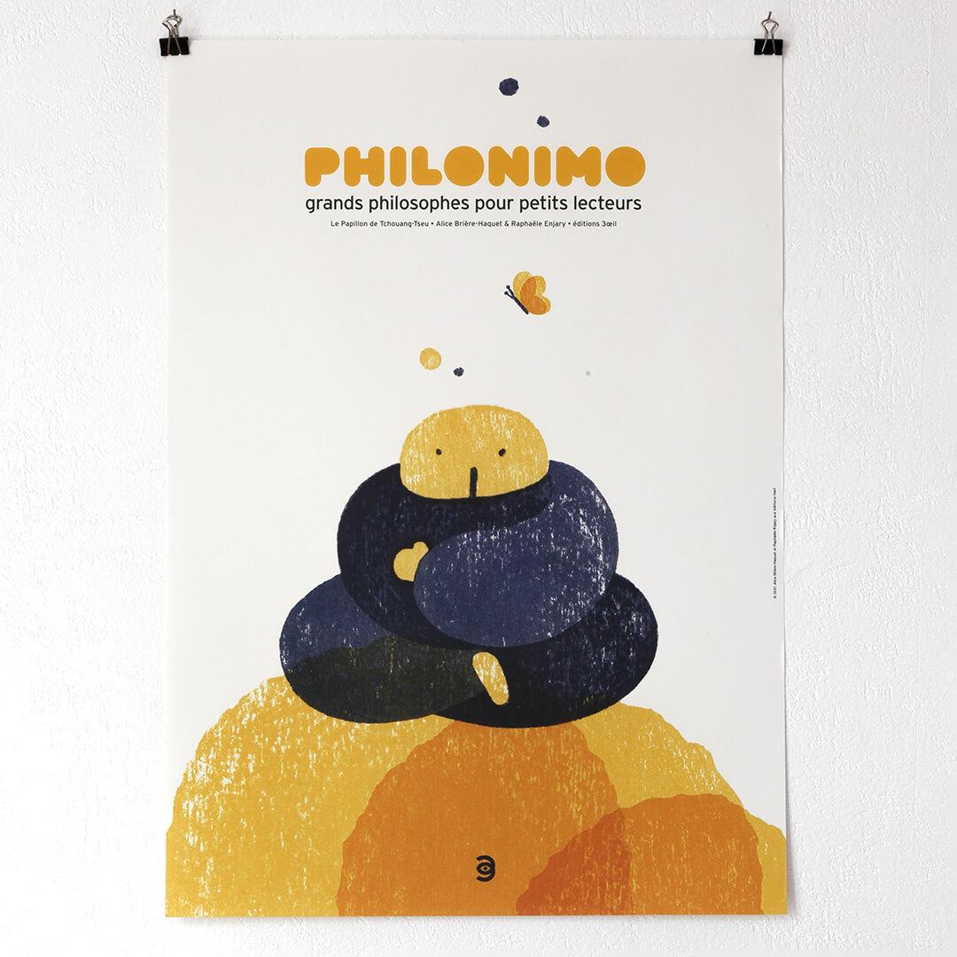 affiche Le Papillon de Tchouang-Tseu - Philonimo 3