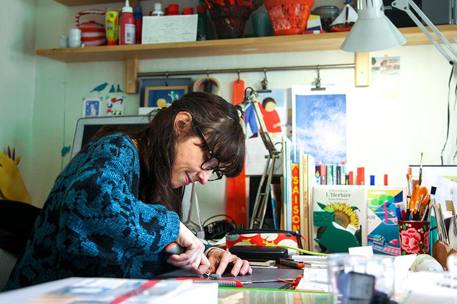 rencontre atelier - Sophie Vissière