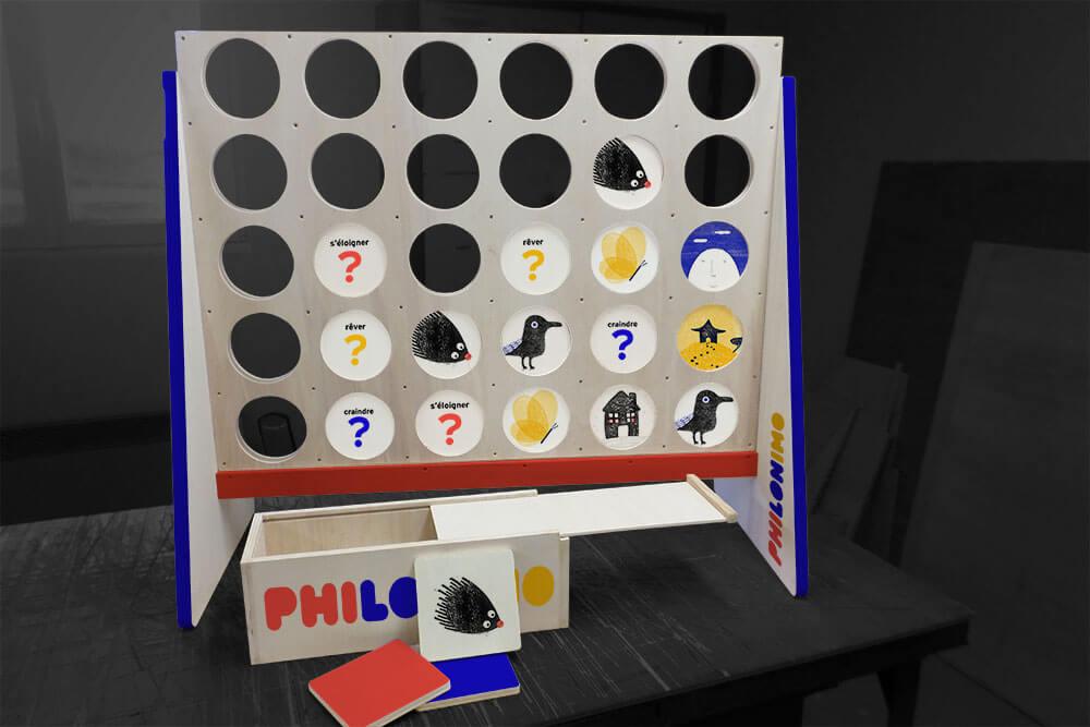 jeu artiste Philonimo Sylvain Moreau