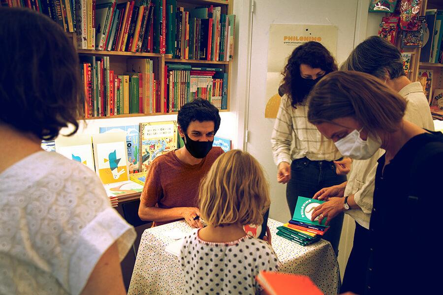 lancement Philonimo 6 - Librairie L'Humeur Vagabonde